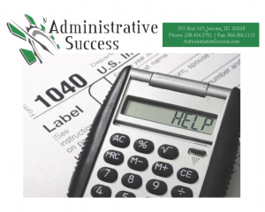 Tax Preparation | AdministrativeSuccess.com